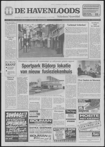 De Havenloods 1991-12-12