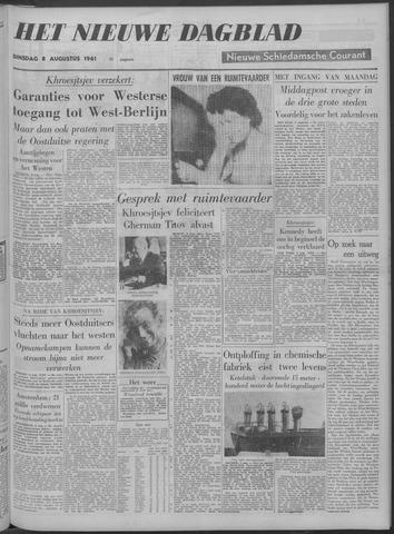 Nieuwe Schiedamsche Courant 1961-08-08