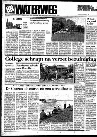 Rotterdamsch Nieuwsblad / Schiedamsche Courant / Rotterdams Dagblad / Waterweg / Algemeen Dagblad 1987-08-03