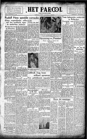 Rotterdamsch Parool / De Schiedammer 1945-12-01