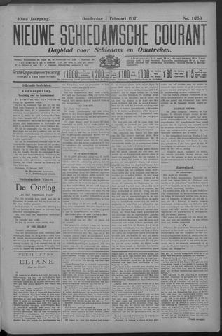 Nieuwe Schiedamsche Courant 1917-02-01