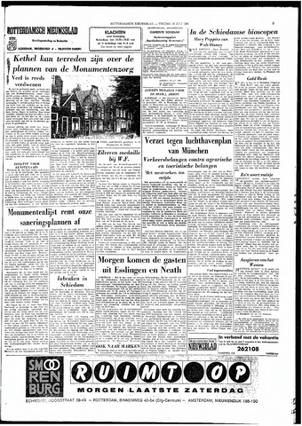 Rotterdamsch Nieuwsblad / Schiedamsche Courant / Rotterdams Dagblad / Waterweg / Algemeen Dagblad 1966-07-29