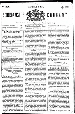 Schiedamsche Courant 1879-05-03