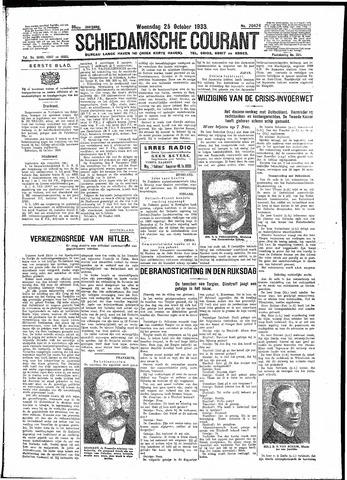 Schiedamsche Courant 1933-10-25
