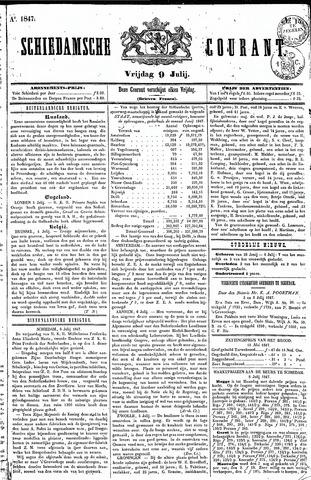 Schiedamsche Courant 1847-07-09
