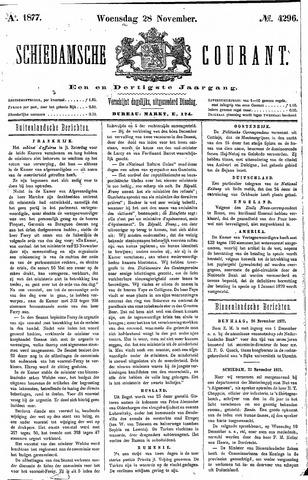 Schiedamsche Courant 1877-11-28
