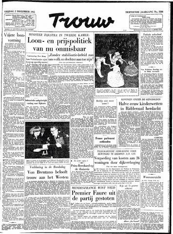 Trouw / De Rotterdammer 1955-12-02