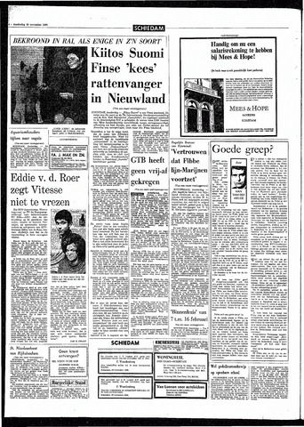Rotterdamsch Parool / De Schiedammer 1968-11-28