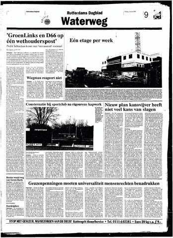 Rotterdamsch Nieuwsblad / Schiedamsche Courant / Rotterdams Dagblad / Waterweg / Algemeen Dagblad 1998-03-13