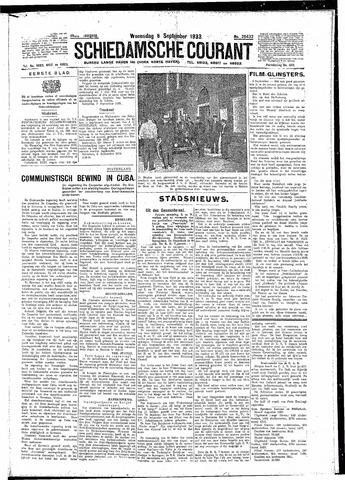 Schiedamsche Courant 1933-09-06