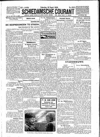 Schiedamsche Courant 1935-04-13