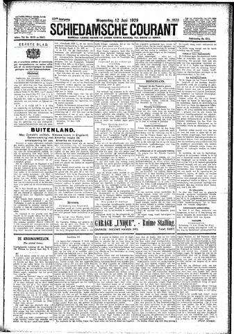 Schiedamsche Courant 1929-06-12