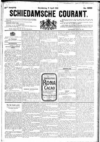 Schiedamsche Courant 1912-04-11