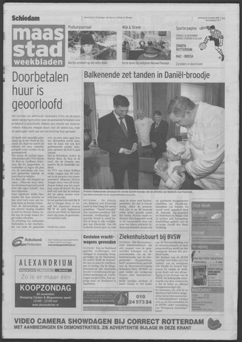 Maaspost / Maasstad / Maasstad Pers 2008-11-26