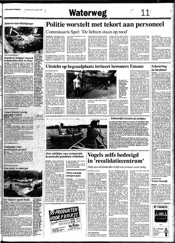 Rotterdamsch Nieuwsblad / Schiedamsche Courant / Rotterdams Dagblad / Waterweg / Algemeen Dagblad 1991-08-29