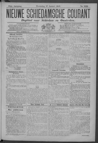 Nieuwe Schiedamsche Courant 1909-01-27