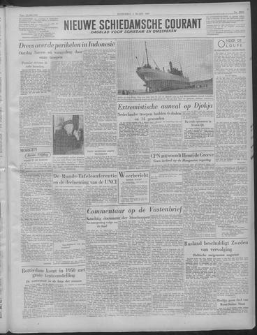 Nieuwe Schiedamsche Courant 1949-03-03