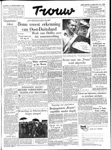 Trouw / De Rotterdammer 1955-09-23