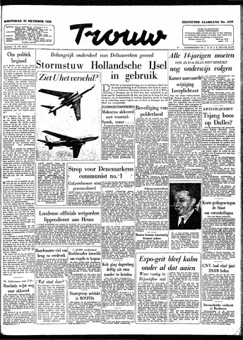 Trouw / De Rotterdammer 1958-10-22