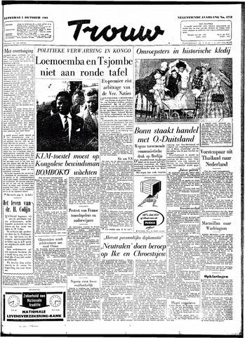 Trouw / De Rotterdammer 1960-10-01
