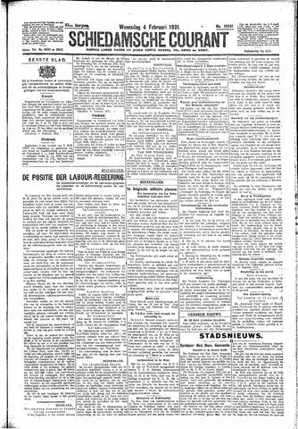 Schiedamsche Courant 1931-02-04
