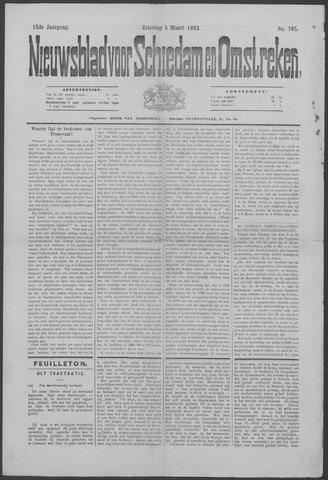 Nieuwsblad voor Schiedam en Omstreken 1892-03-05