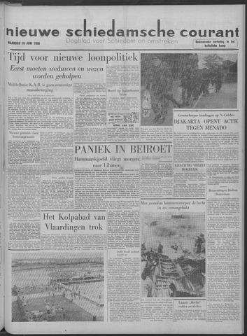Nieuwe Schiedamsche Courant 1958-06-16