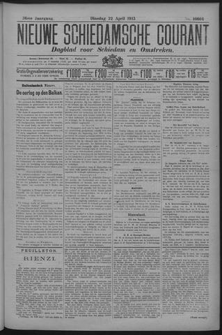 Nieuwe Schiedamsche Courant 1913-04-22