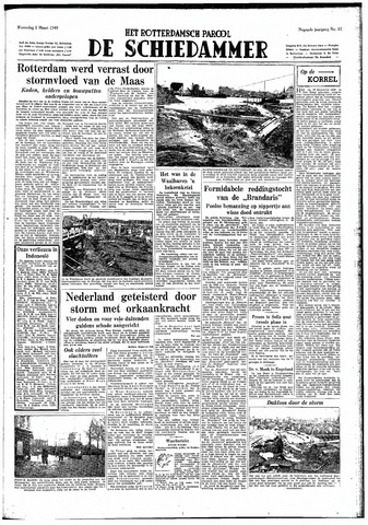 Rotterdamsch Parool / De Schiedammer 1949-03-02