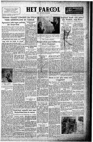 Rotterdamsch Parool / De Schiedammer 1947-03-13