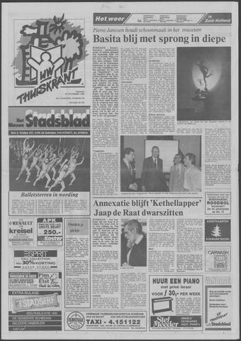 Het Nieuwe Stadsblad 1988-11-25