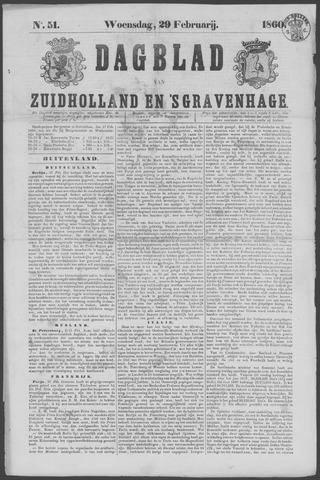 Dagblad van Zuid-Holland 1860-02-29