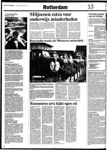 Rotterdamsch Nieuwsblad / Schiedamsche Courant / Rotterdams Dagblad / Waterweg / Algemeen Dagblad 1991-09-14