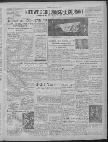 Nieuwe Schiedamsche Courant 1949-01-19