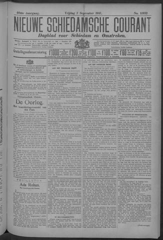Nieuwe Schiedamsche Courant 1917-09-07