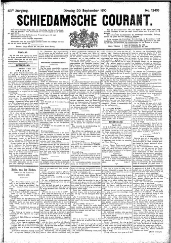 Schiedamsche Courant 1910-09-20