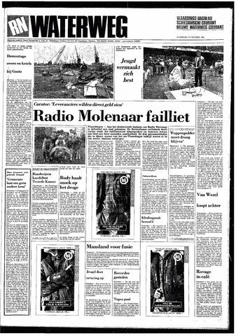 Rotterdamsch Nieuwsblad / Schiedamsche Courant / Rotterdams Dagblad / Waterweg / Algemeen Dagblad 1985-10-16