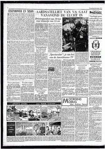 Rotterdamsch Parool / De Schiedammer 1957-12-04