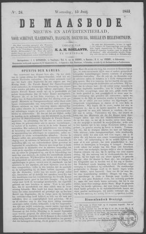 De Maasbode 1853-06-15