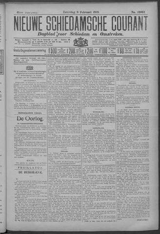 Nieuwe Schiedamsche Courant 1918-02-09