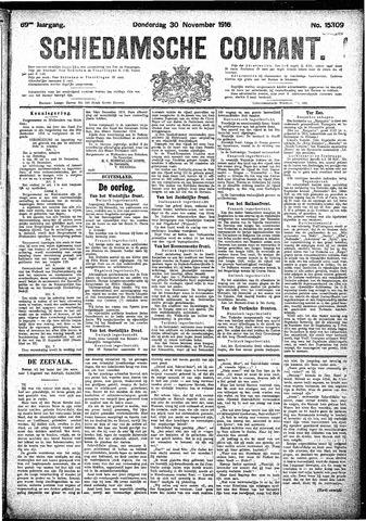 Schiedamsche Courant 1916-11-30