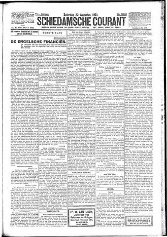 Schiedamsche Courant 1931-08-22