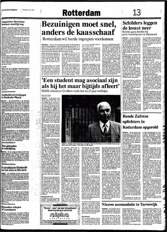 Rotterdamsch Nieuwsblad / Schiedamsche Courant / Rotterdams Dagblad / Waterweg / Algemeen Dagblad 1991-05-18