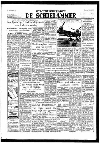 Rotterdamsch Parool / De Schiedammer 1949-07-16