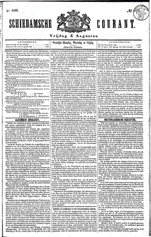 Schiedamsche Courant 1866-08-03