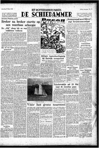 Rotterdamsch Parool / De Schiedammer 1948-03-27