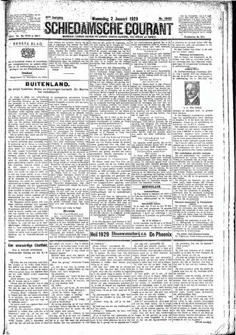 Schiedamsche Courant 1929-01-02