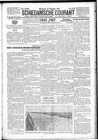 Schiedamsche Courant 1931-08-12