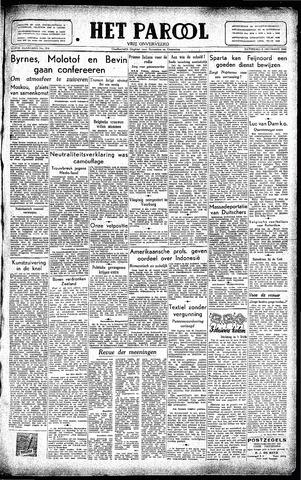 Rotterdamsch Parool / De Schiedammer 1945-12-08