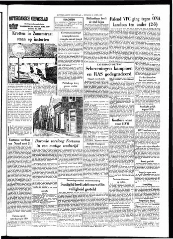 Rotterdamsch Nieuwsblad / Schiedamsche Courant / Rotterdams Dagblad / Waterweg / Algemeen Dagblad 1966-04-12